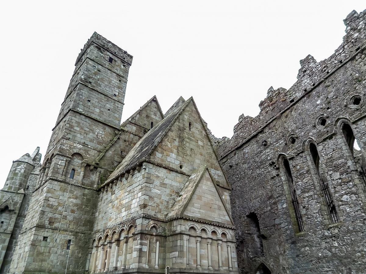 Cormac's chapel at the Rock of Cashel