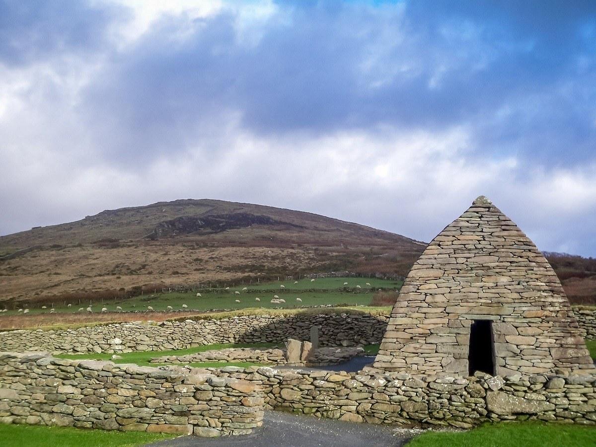 The Gallarus Oratory on the beautiful Dingle Peninsula in Western Ireland