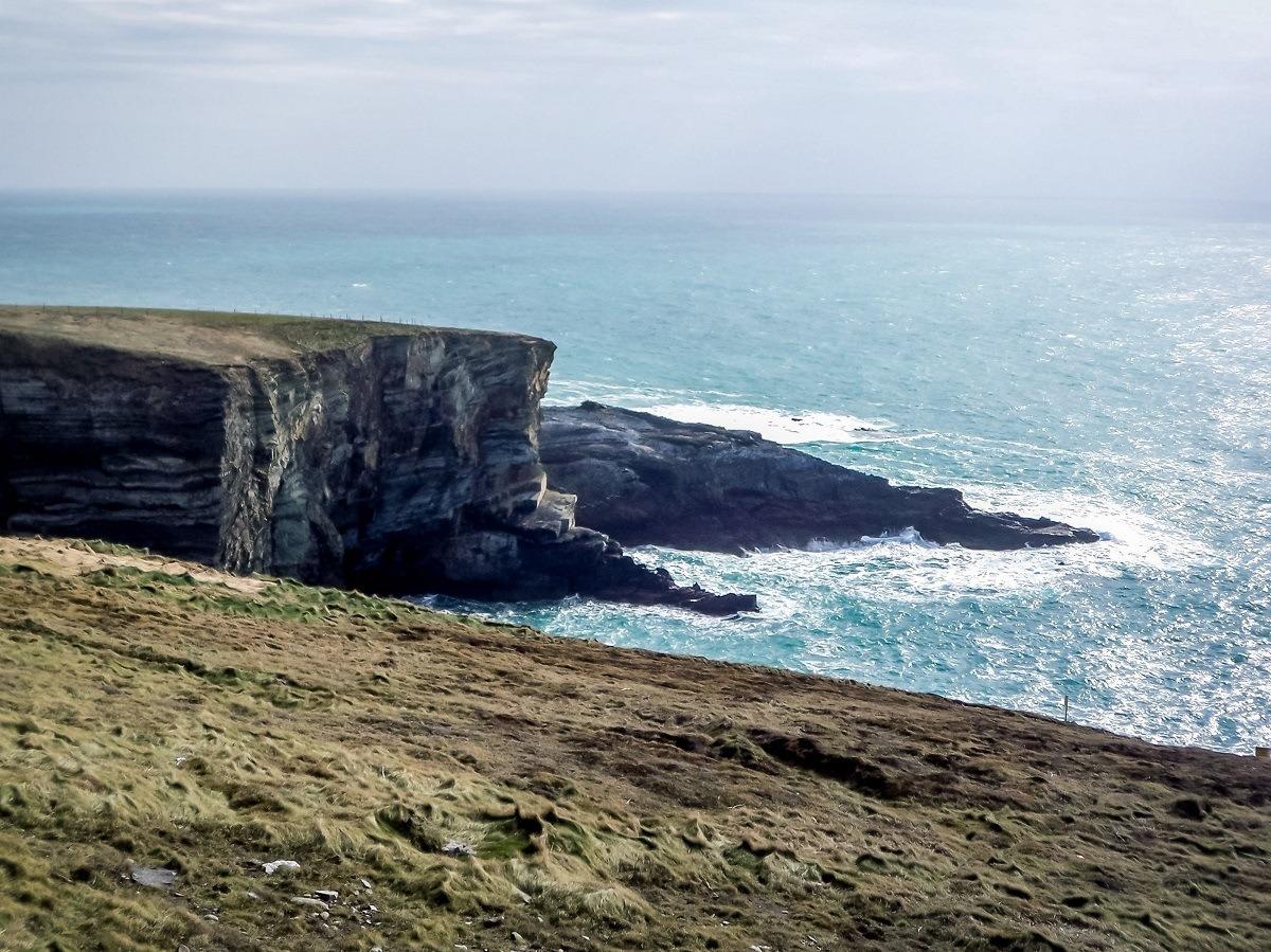 The coastline in Southwest Ireland