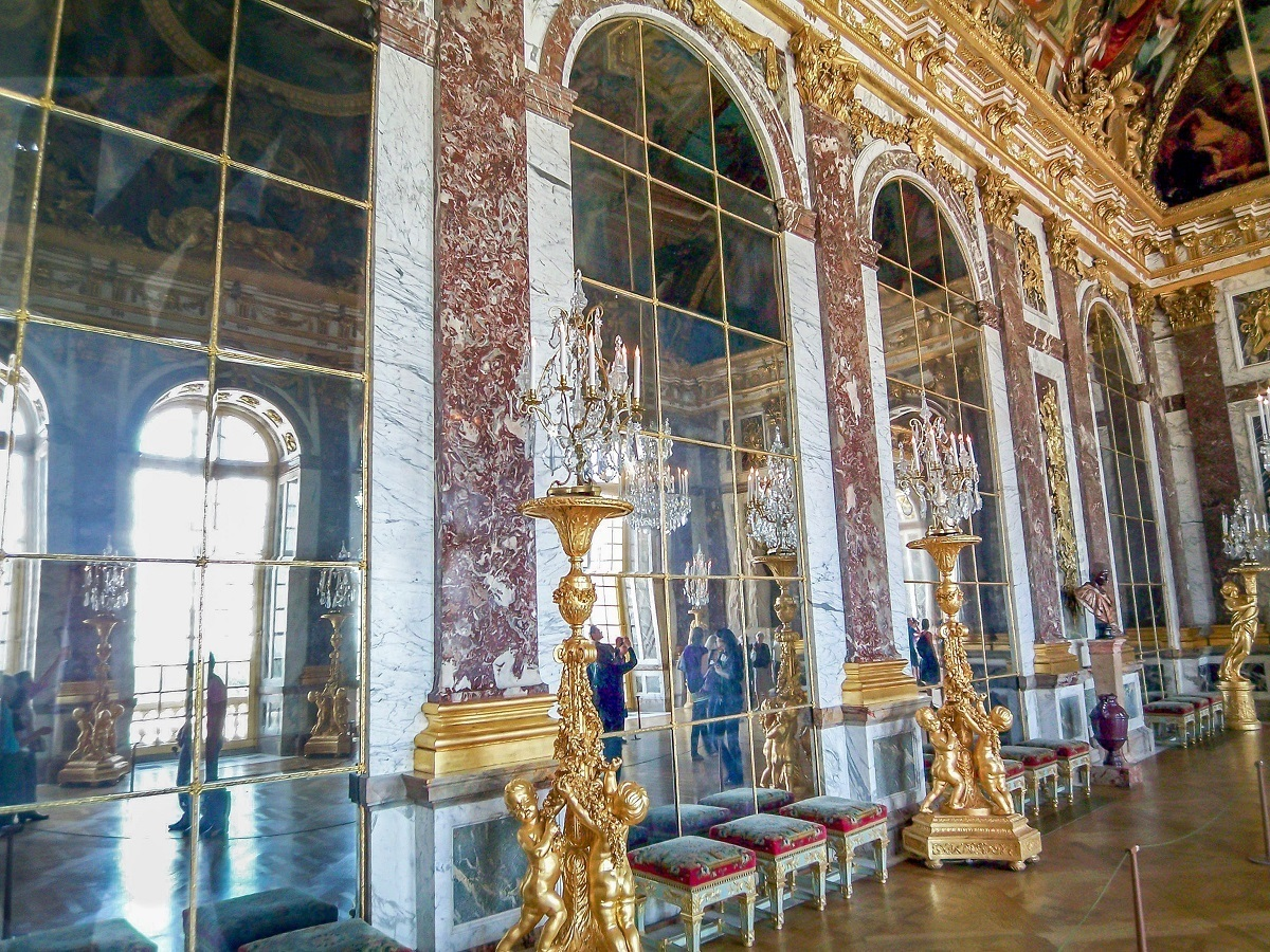 The Hall of Mirrors at the Palace