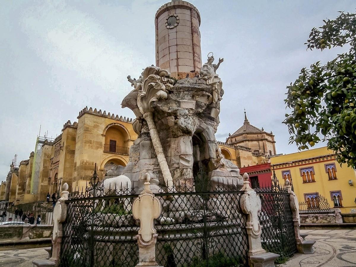 Fountain in Cordoba