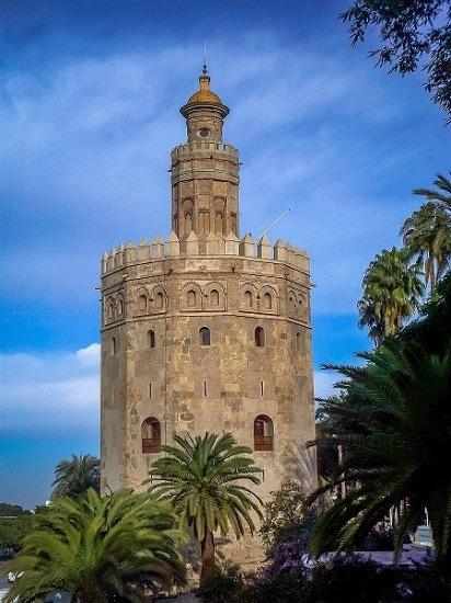 The Torre del Oro in Seville, Spain.