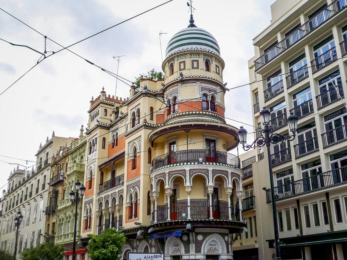 A beautiful building in Seville