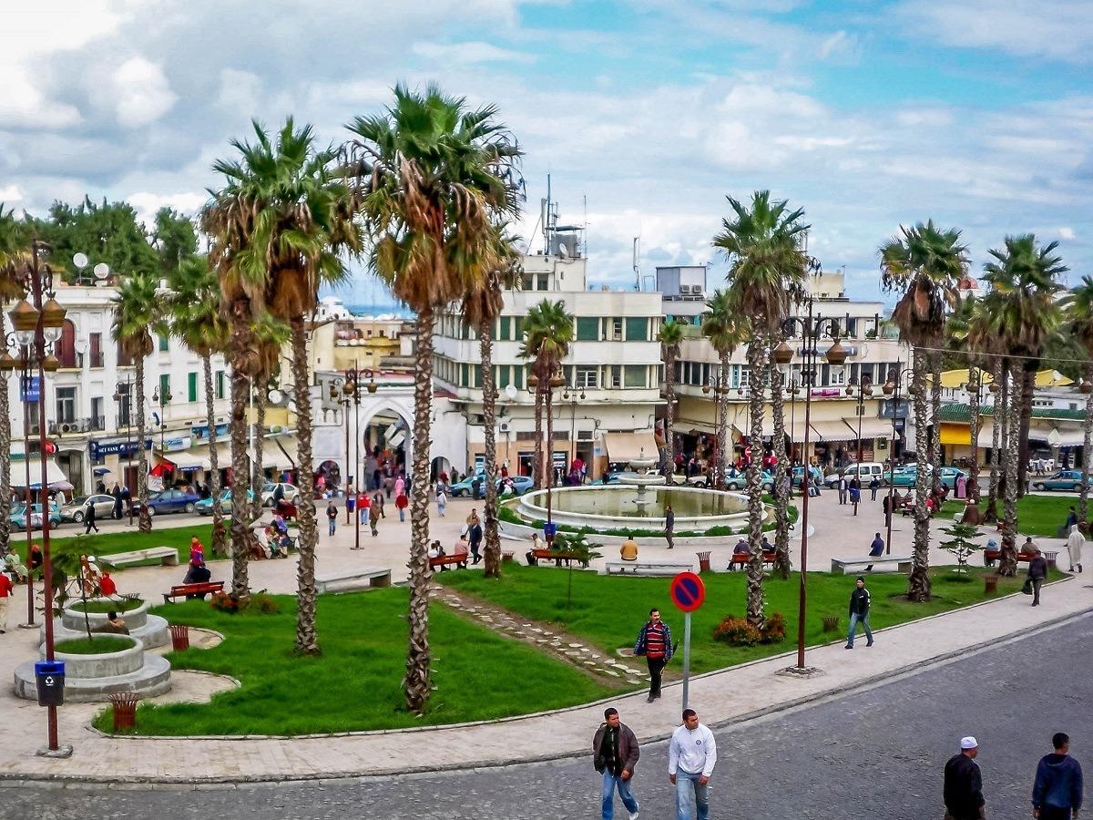 Grand Socco in Tangier, Morocco