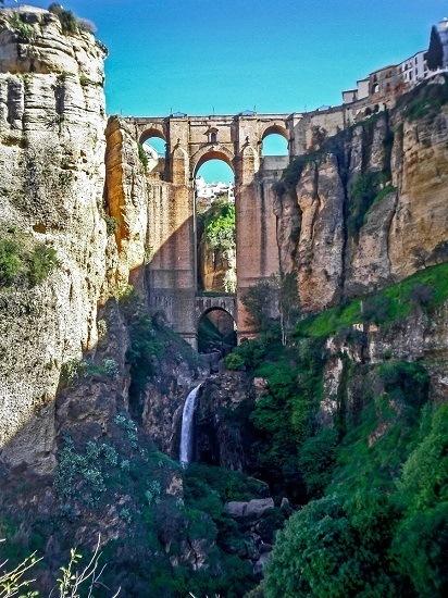 The Puente Nuevo bridge