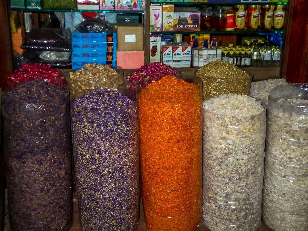 The Dubai spice market