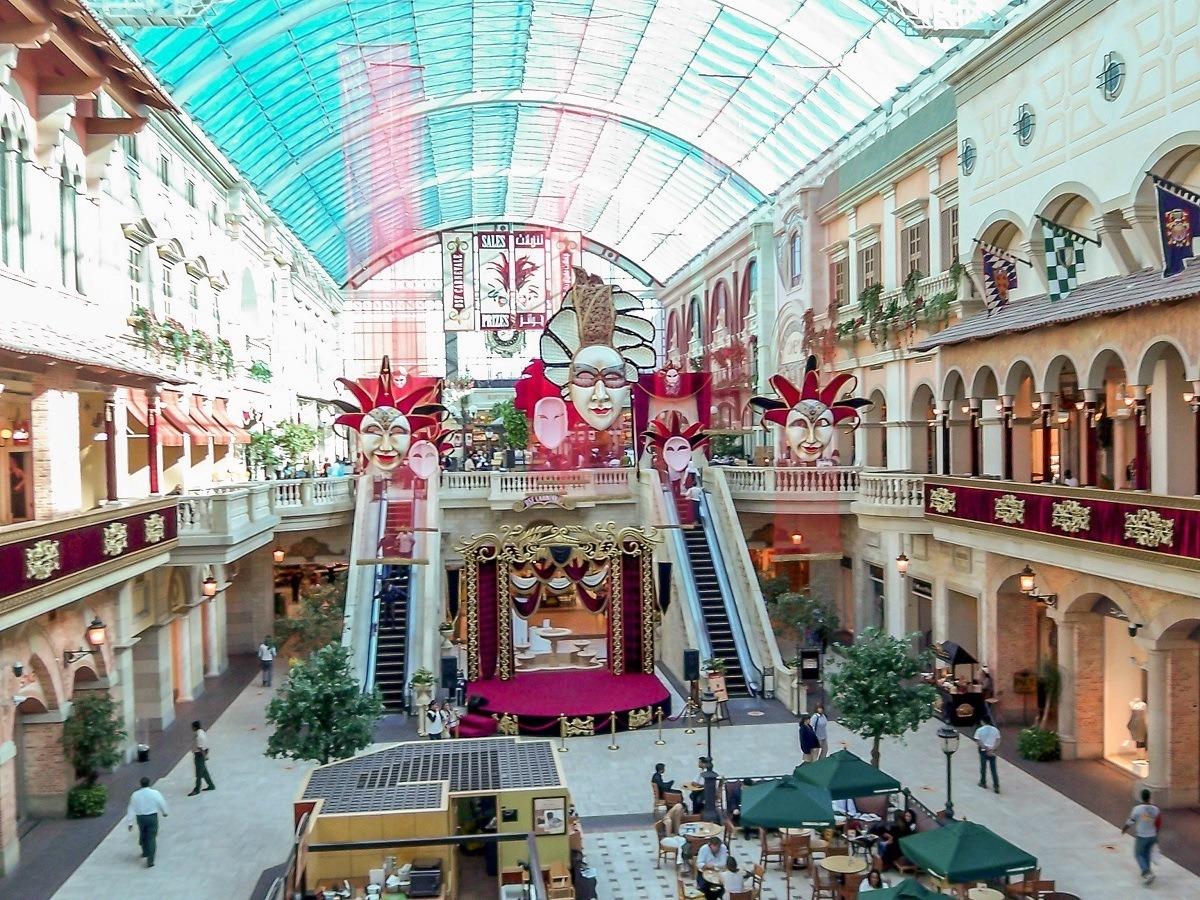 The Mediterranean-inspired Mercato Mall