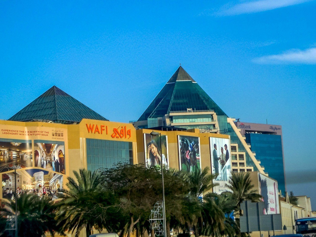 The Wafi Mall for luxury shopping