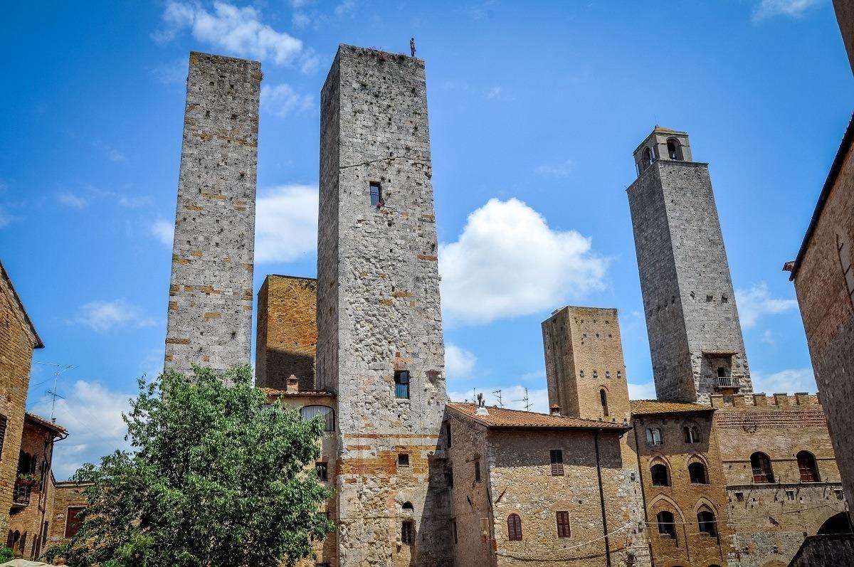 The towers of San Gimignano, Italy
