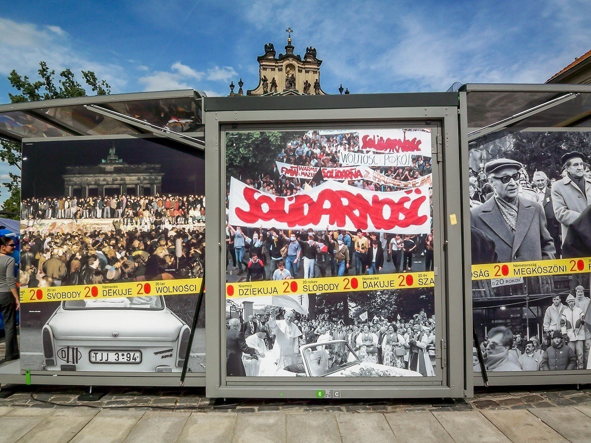 A commemoration for the 20th Anniversary of the fall of the Berlin Wall and Communism in Warsaw