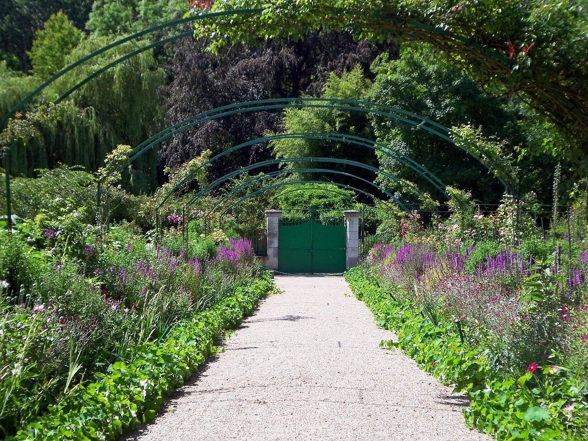 Claude Monet's Clos Normand Garden in Giverny France