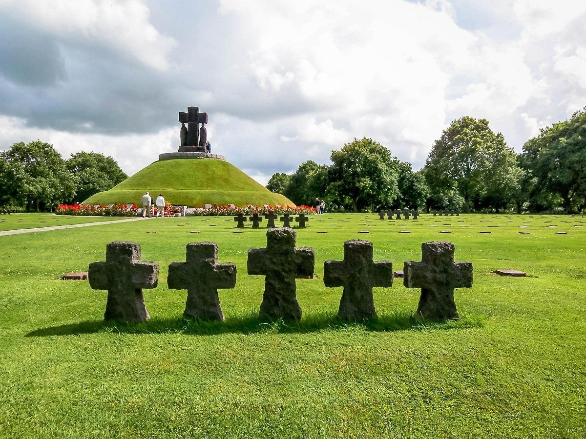 The German Normandy Cemetery in France