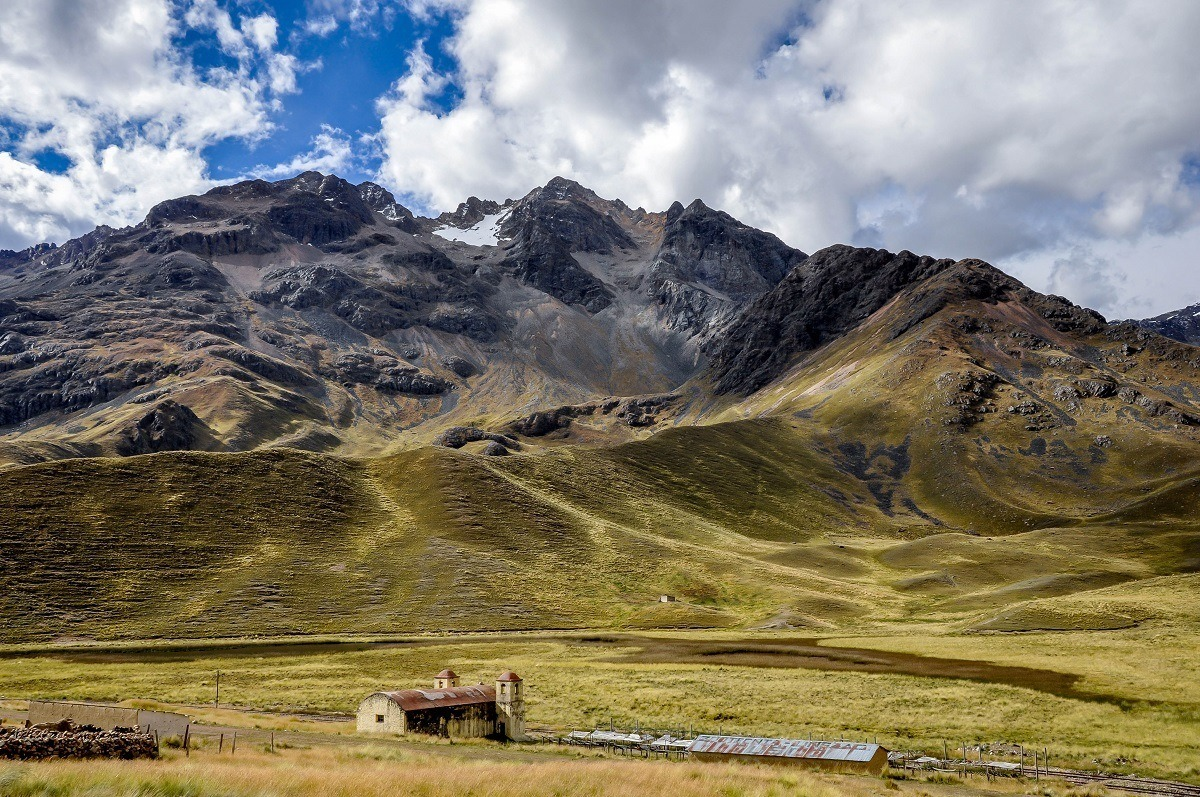 La Raya Pass makes a scenic stop on the drive from Cusco to Puno