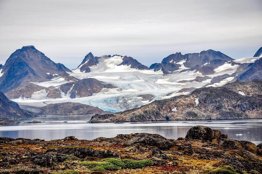 Glacier near Kulusuk Greenland