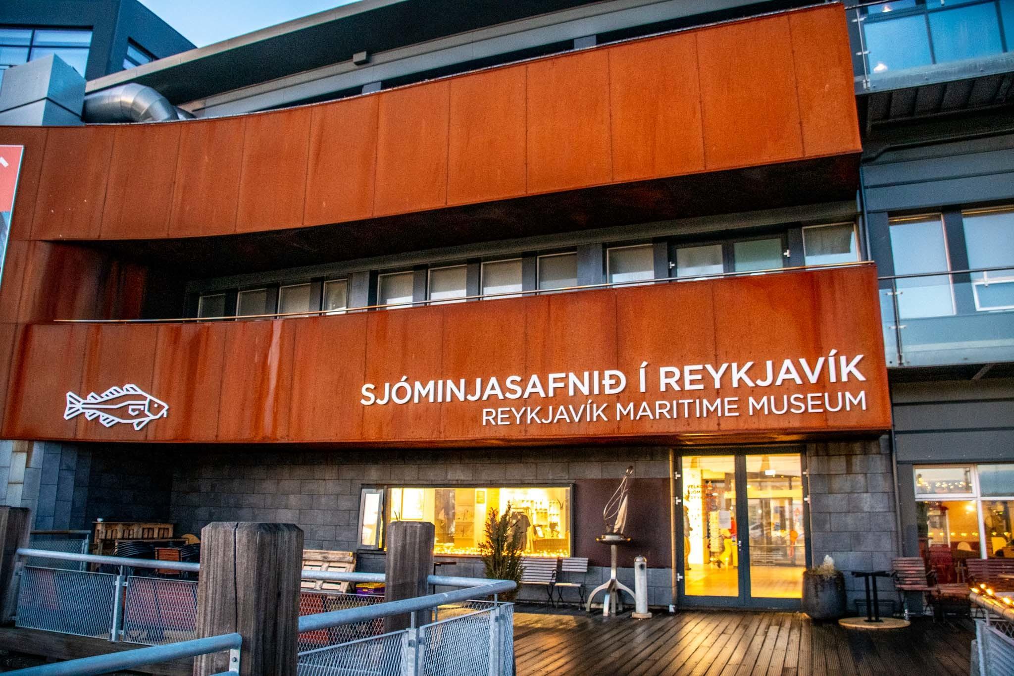 Reykjavik Maritime Museum in the harbor area