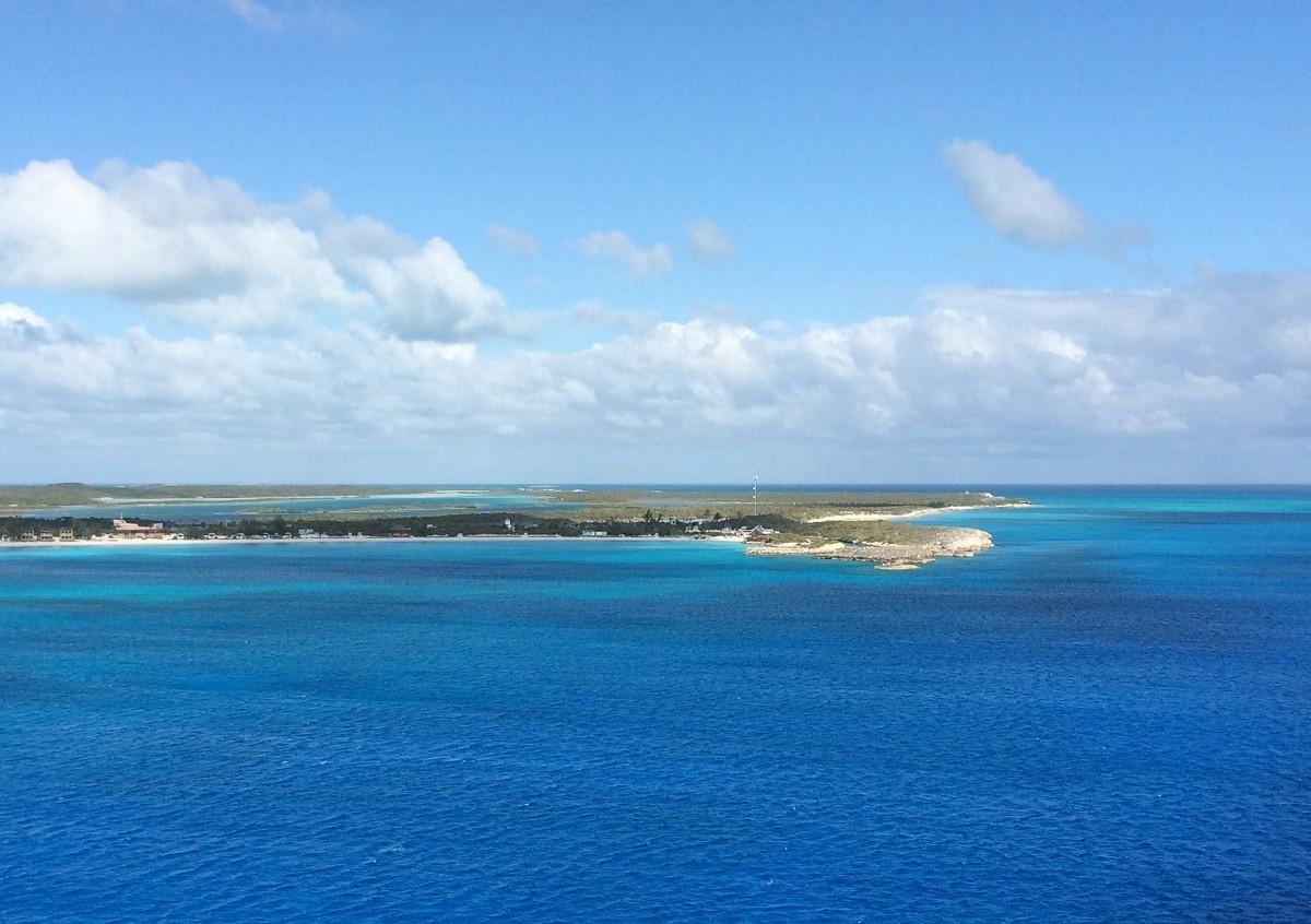 Island in the ocea