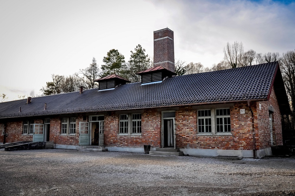The Dachau Crematorium building
