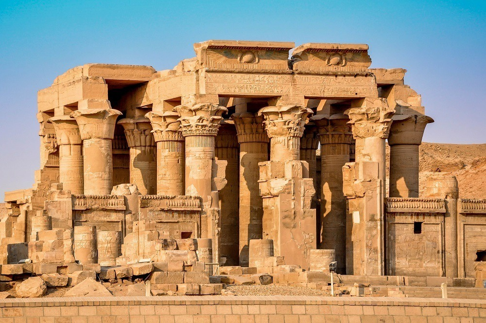 Kom Ombo Temple at sunset