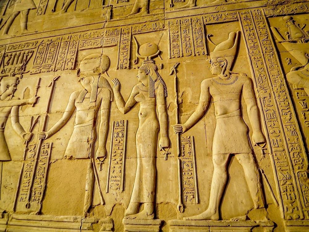 Pharaohic reliefs