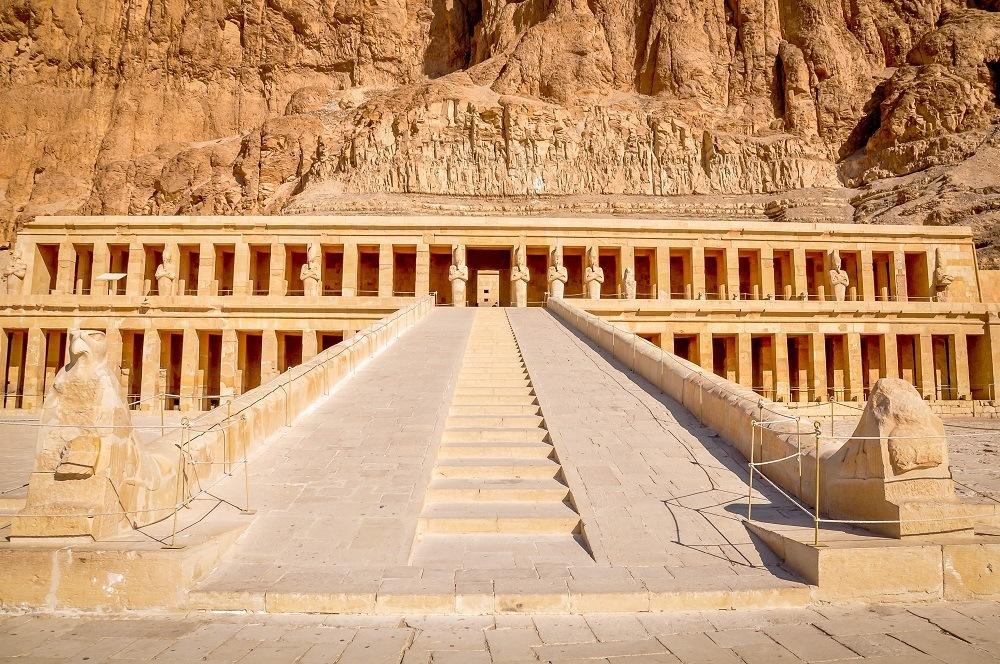 Temple of Queen Hatshepsut in Egypt