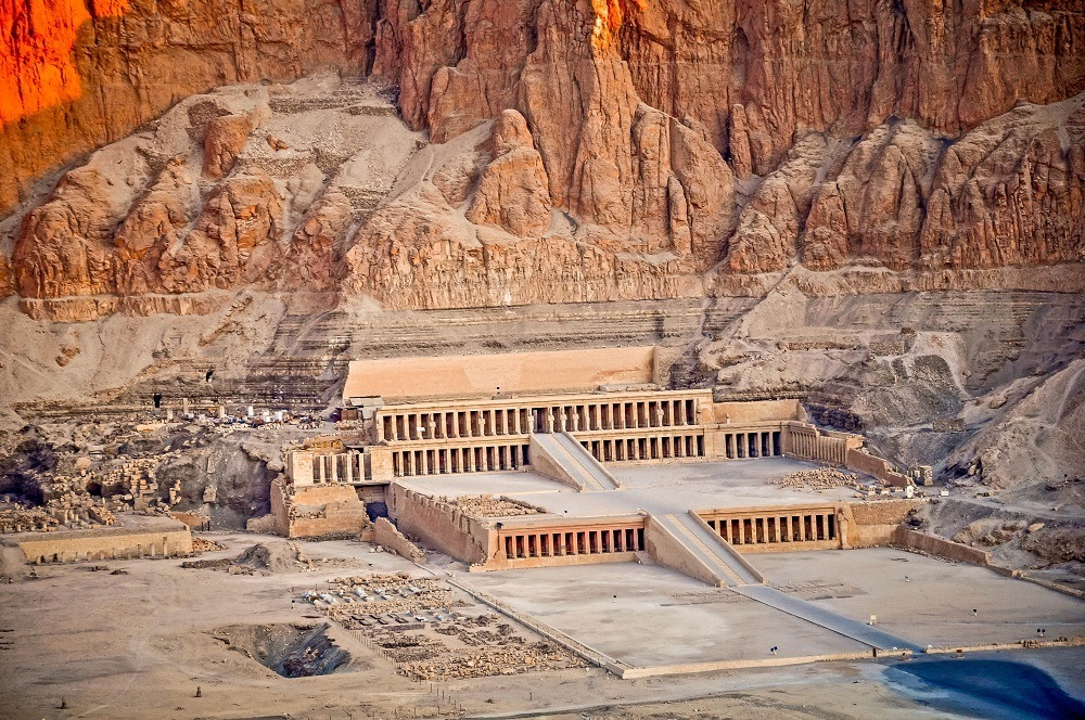 The Memorial Temple of Queen Hatshepsut at Deir el-Bahari