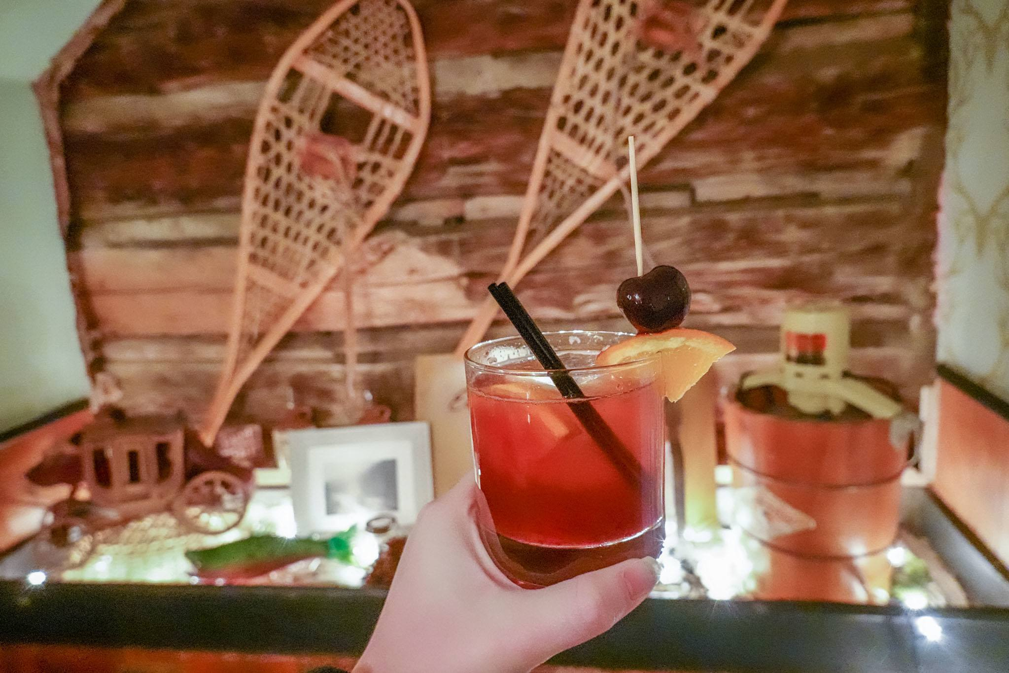 A cocktail at the Dean Public House