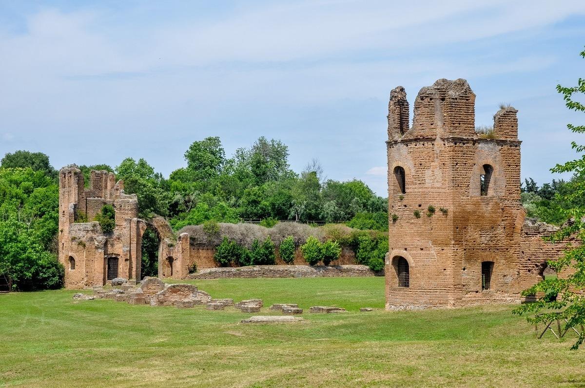 The Villa at the Circus of Maxentius
