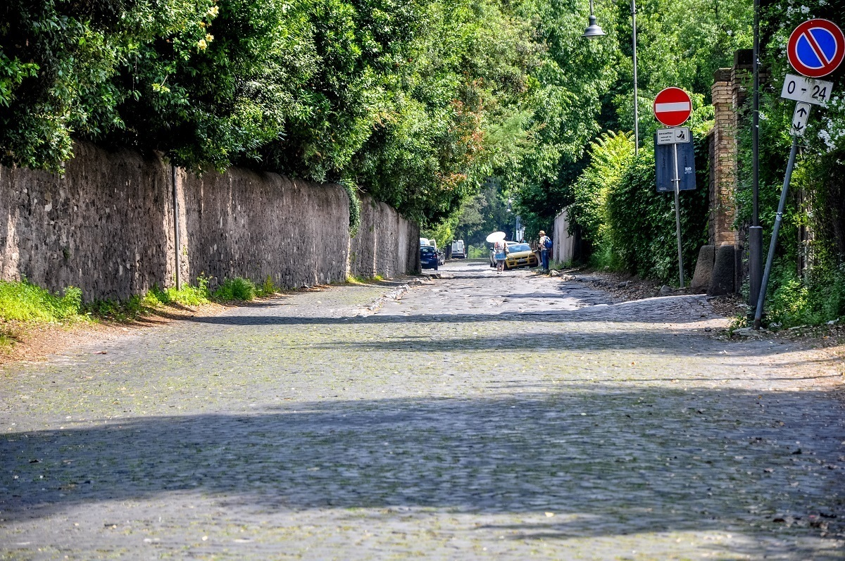 The Appian Way as it looks today