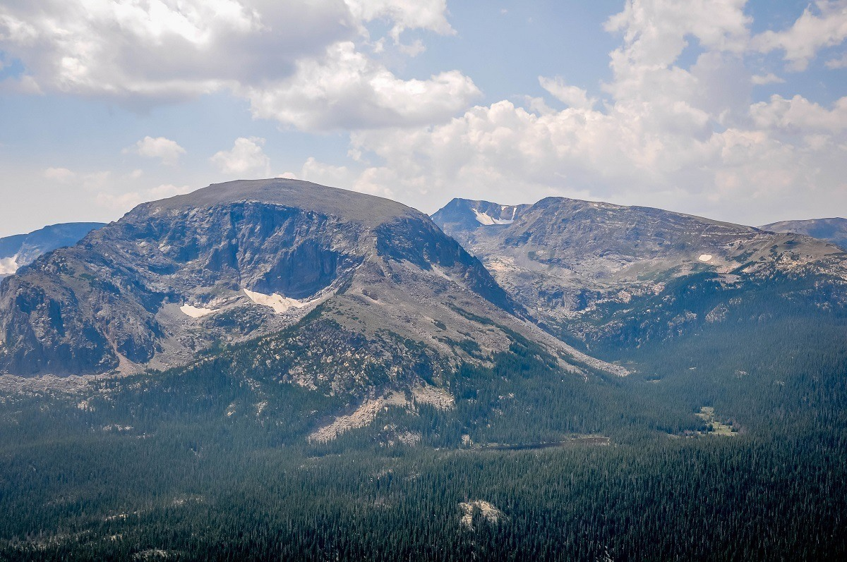 View of the Rocky Mountains from Trail Ridge Road