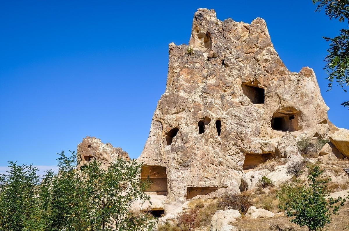 The Goreme Open Air Museum in Cappadocia, Turkey.