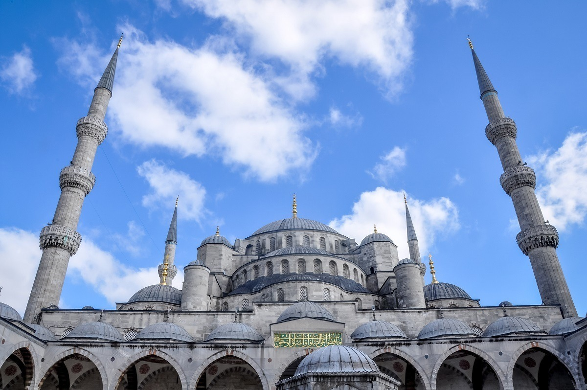 The Blue Mosque, one of the top must see sites in Istanbul