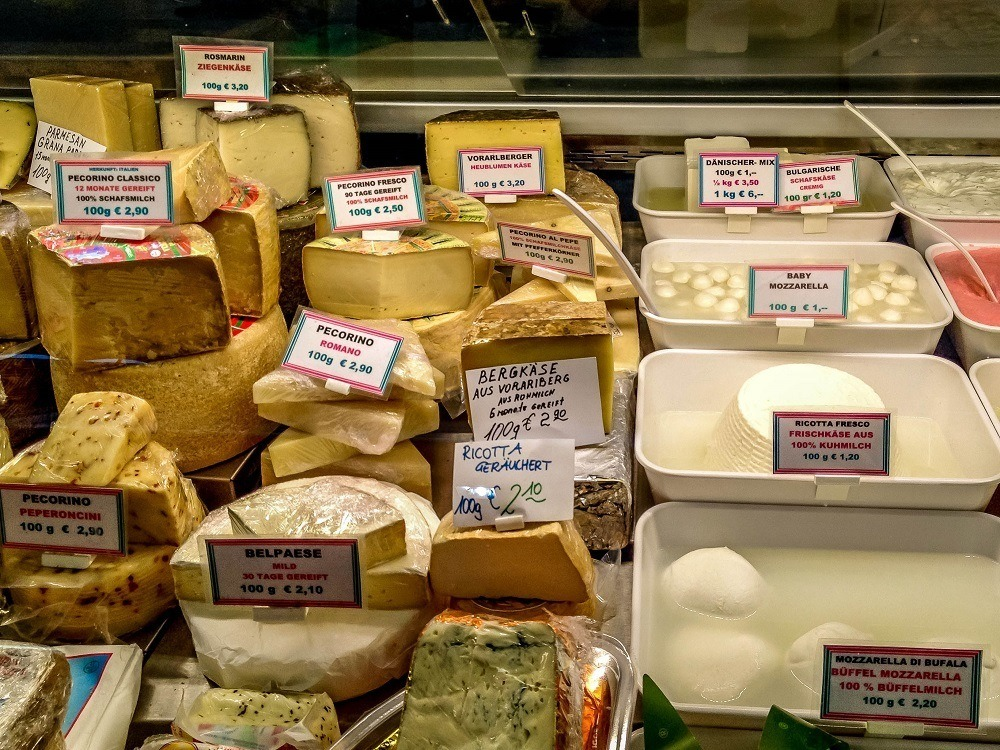Fresh cheese for sale