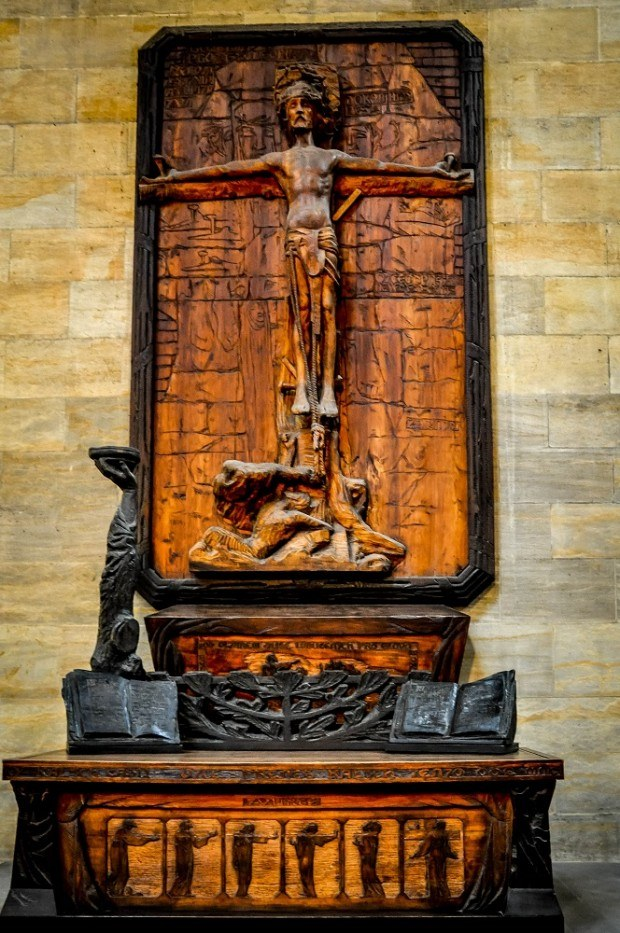 Crucifix in St. Vitus Cathedral