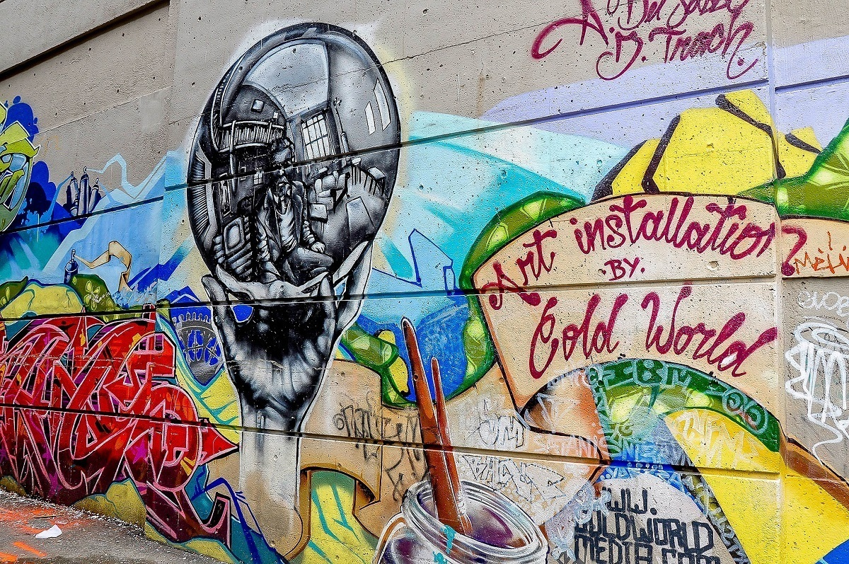 Vancouver street art by Cold World Media