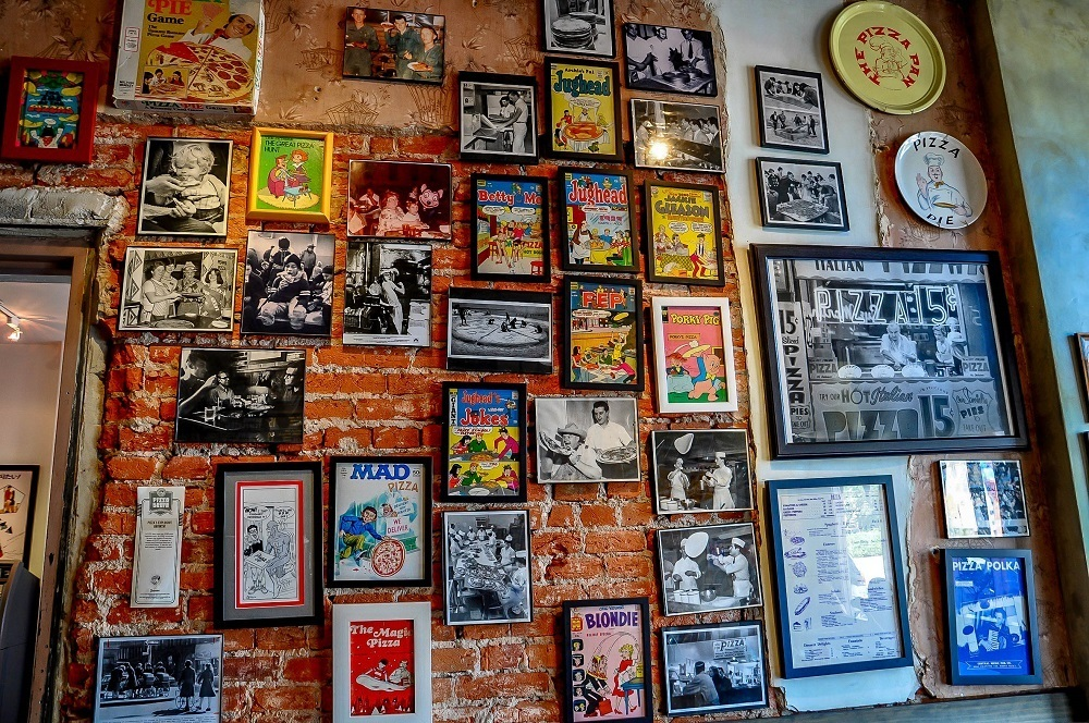 The history of pizza on display at the Philadelphia Pizza Brain Museum