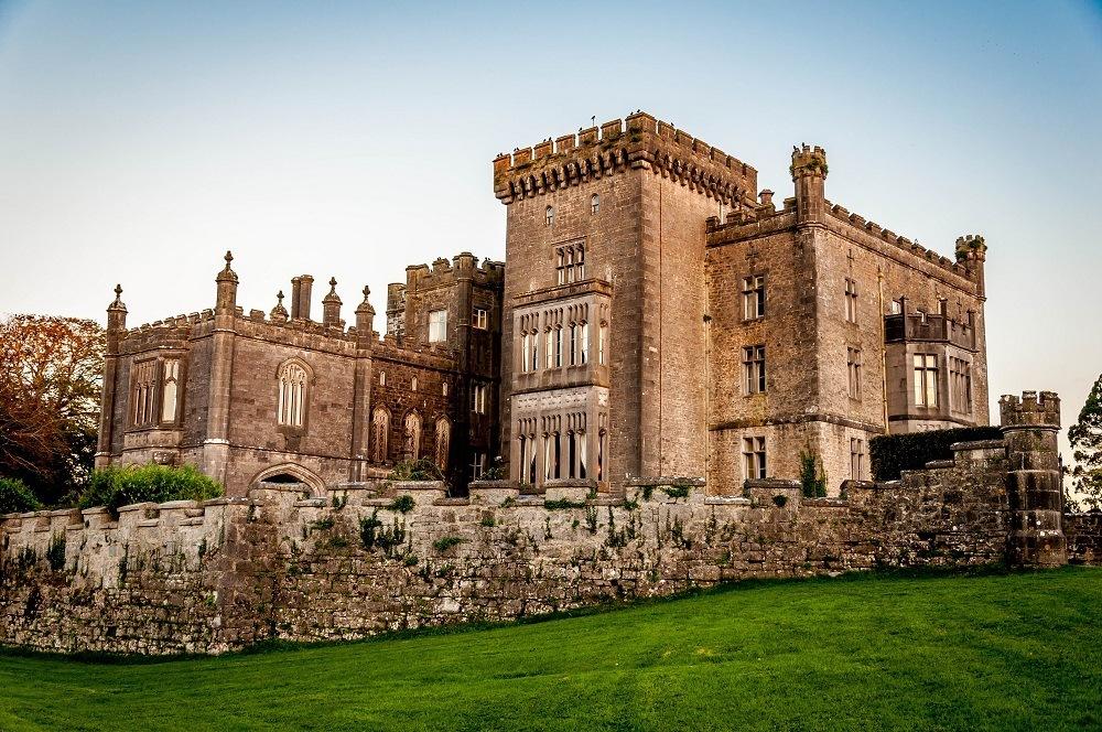 Front of Markree Castle, a castle hotel in Ireland