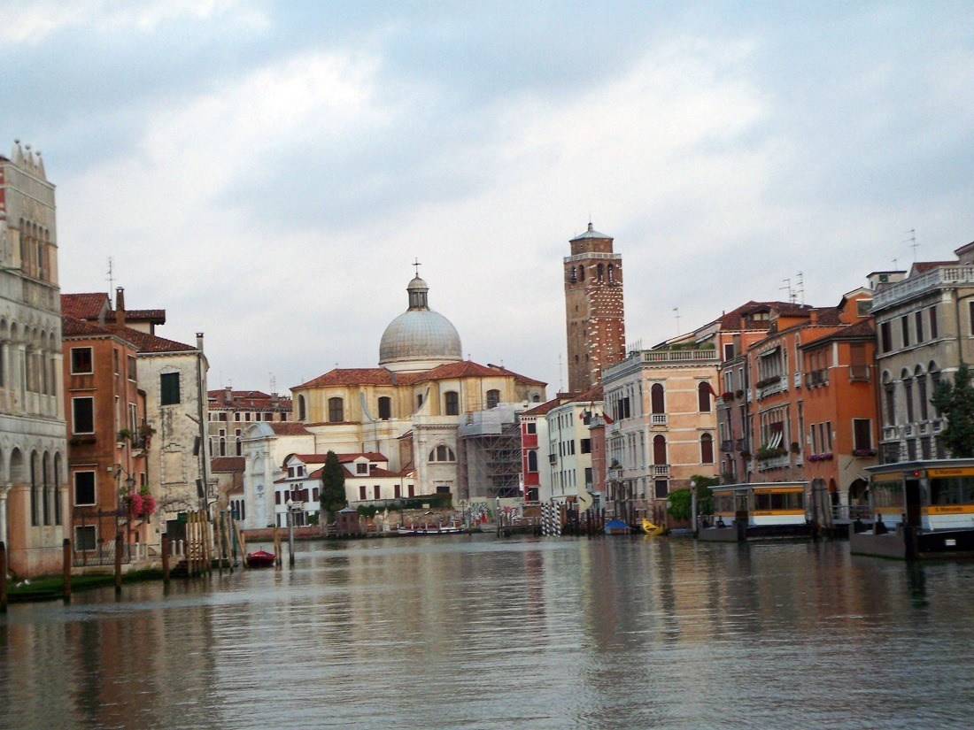 The Grand Canal in Venice, one of the world's top overrated travel destinations