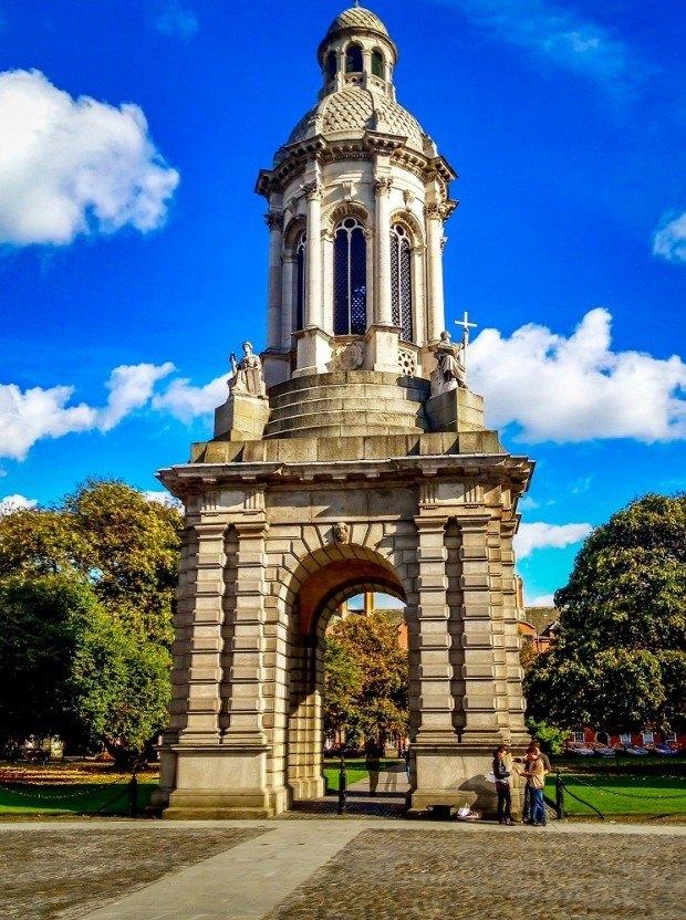 Gate of Trinity College Dublin