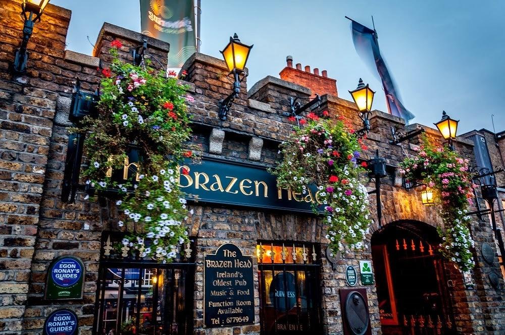 Dublin Dinner Shows Irish House Party And The Brazen Head