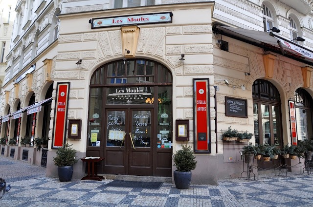 The restaurant Les Moules in Prague