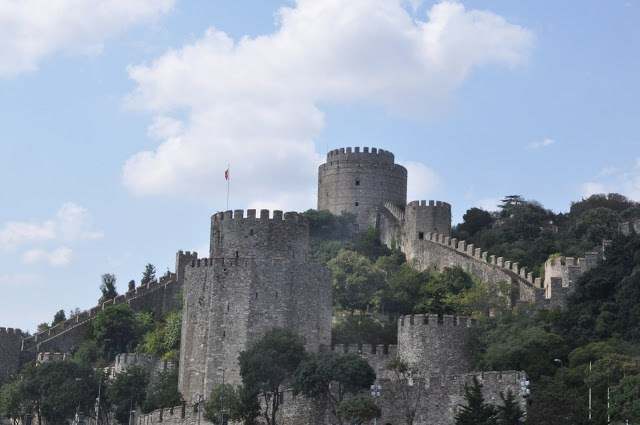 The Rumeli Fortress on the Bosphorus, Istanbul