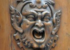 Demon Face Door Knocker, Siena, Italy