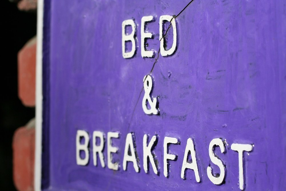 Bed And Breakfast Sign Breakfast in Ireland Sign