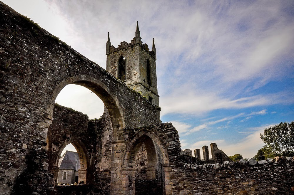 The Ruins of Baltinglass Abbey