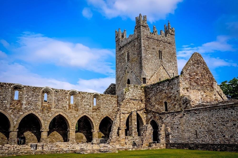 Church ruins in Ireland