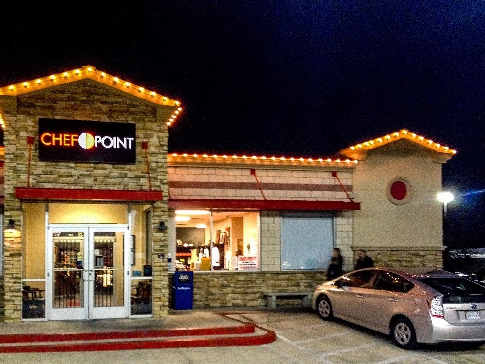 Exterior of Chef Point Cafe