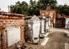 Tombs in the St. Louis Cemetery #1 on our New Orleans Cemetery Tour