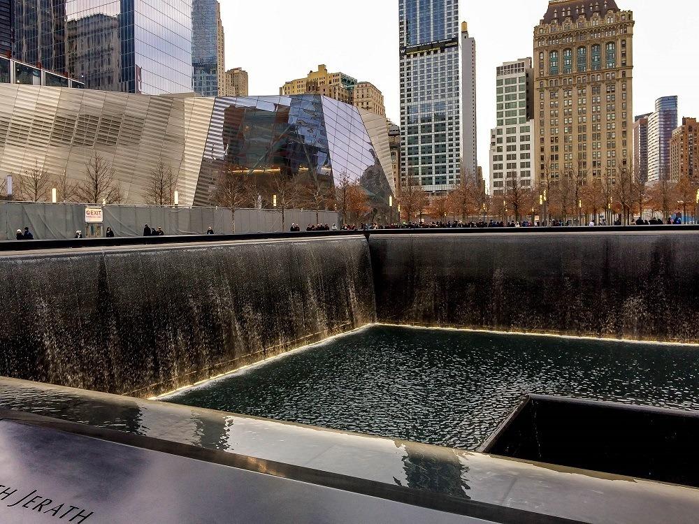 Pool at the September 11 Memorial