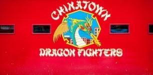 On a Walks of New York Lower Eastside tour, we stopped at the Chinatown Dragon Fighters fire station. The firefighters were very gracious in talking to us about their company.