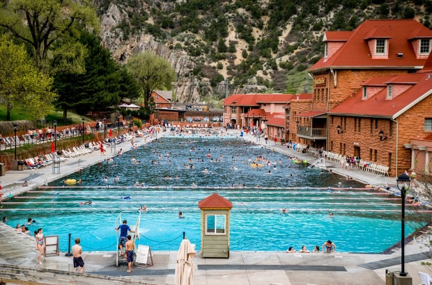 The Glenwood Hot Springs Pool in Colorado.